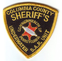 Columbia County Dive Patch